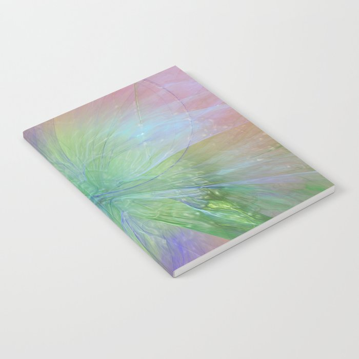 Mystic Warmth Abstract Fractal Notebook