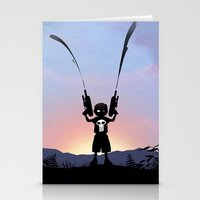 punisher Stationery Cards featuring Punisher Kid by Andy Fairhurst Art