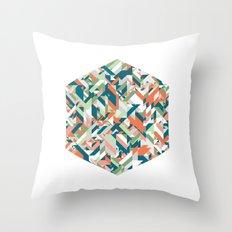 Summer Geometric Throw Pillow