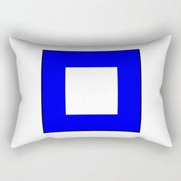International maritime signal flag sea alphabet collection letter p Rectangular Pillow