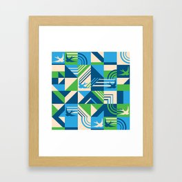 migrate Framed Art Print