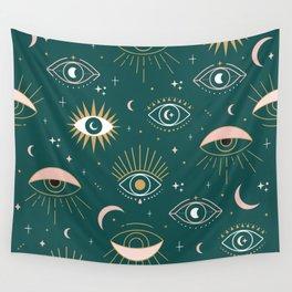 Evil Eyes Wall Tapestry