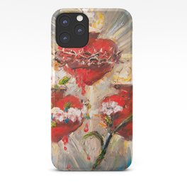 Sacratísimos Corazones III iPhone Case