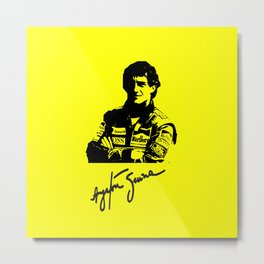 Ayrton Senna Tribute Metal Print