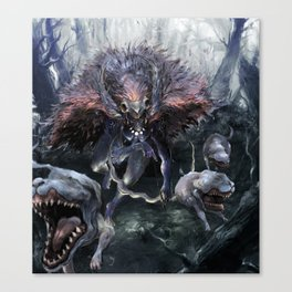 Goddess of the Wild Canvas Print