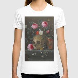 Death and Roses Jan van Kessel Vanitas Still Life T-shirt