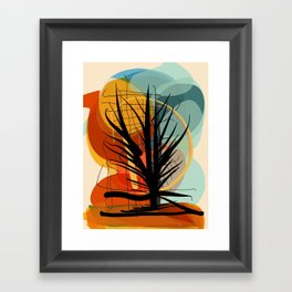 The Tree of Love and Life Framed Art Print