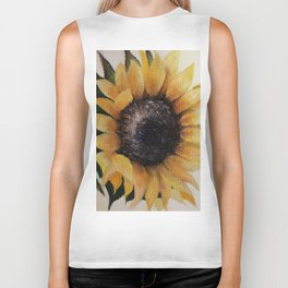 Sunflower, flower. Biker Tank