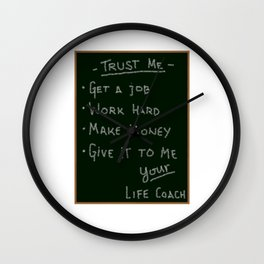 Life Coach Wall Clock