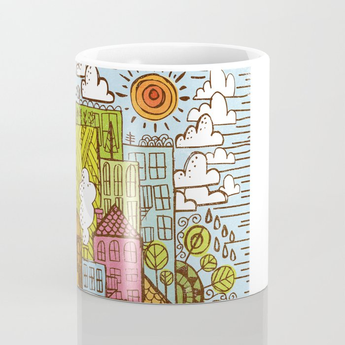 BUILD UP  Coffee Mug