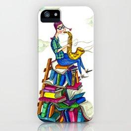Jazzy books iPhone Case