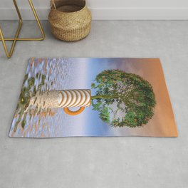 nature is our shelter -1- Rug