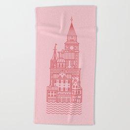 Copenhagen (Cities series) Beach Towel