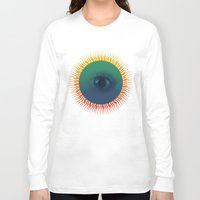 third eye Long Sleeve T-shirts featuring Third Eye by ochre7