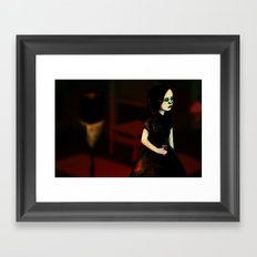 The Party Conversation II Framed Art Print
