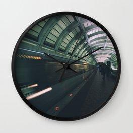 Morning Commute Wall Clock