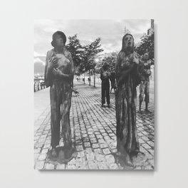 Famine Memorial Dublin Metal Print