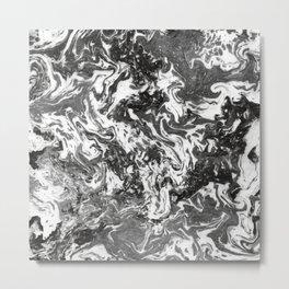 Suminagashi Series (Jing) 精 Metal Print