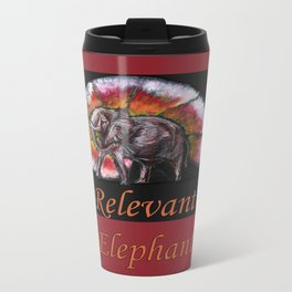 Relevant Elephant Metal Travel Mug
