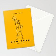 Minimal New York City Poster Stationery Cards
