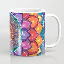 Lotus Rainbow Mandala Coffee Mug