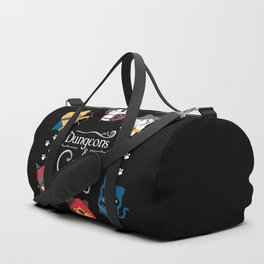 Dungeons And Cats Duffle Bag