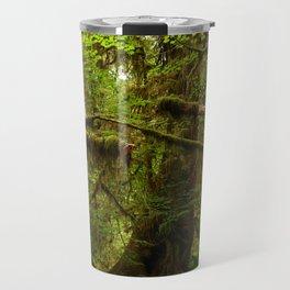 The Opulence Of The Rainforest Travel Mug