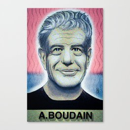 In commemoration of Anthony Boudain Canvas Print