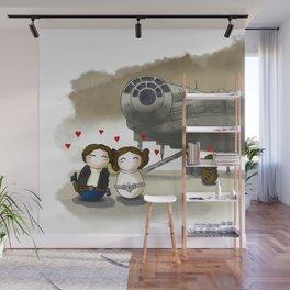 SW Couple+Halcon Wall Mural