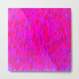 red purple verticals Metal Print
