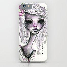 Dark Rose iPhone Case
