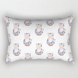 Cow Pattern Rectangular Pillow