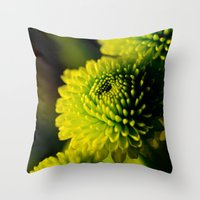 lime Throw Pillows featuring Lime by Nicole Dupee