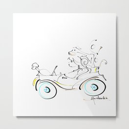 fun ride Metal Print