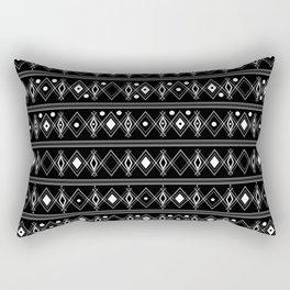 Black and white Art Deco. 23 Rectangular Pillow