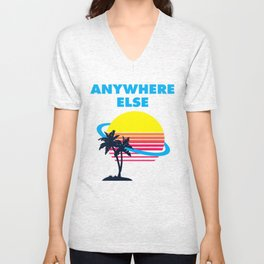Wish I Was There Unisex V-Neck