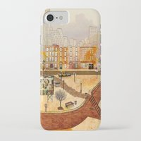 brooklyn iPhone & iPod Cases featuring Brooklyn by Katy Davis
