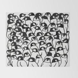 The Penguin Bunch Throw Blanket