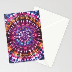 Tie Dye Pattern Stationery Cards