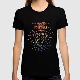 Have Yourself a Happy Gay Day T-shirt