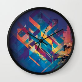 City Sound Wall Clock