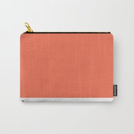 Pantone Tigerlily Carry-All Pouch