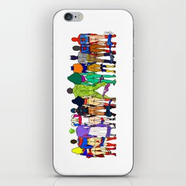Superhero Butts - Power Couple iPhone Skin