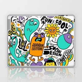 Fun & Cool Laptop & iPad Skin