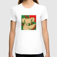 koala T-shirts featuring Koala by whiterabbitart