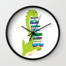 The Geek Brachiosaurus Wall Clock