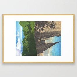 The Edge Of Life Framed Art Print