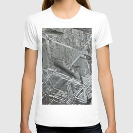 Meteorite structure T-shirt