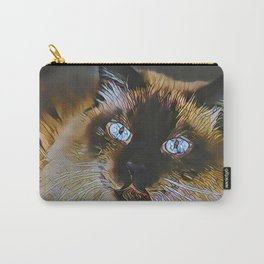 The PERSIAN from our FUNK YOUR FELINE line Carry-All Pouch