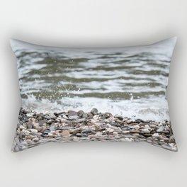 Beach Pebbles Rectangular Pillow